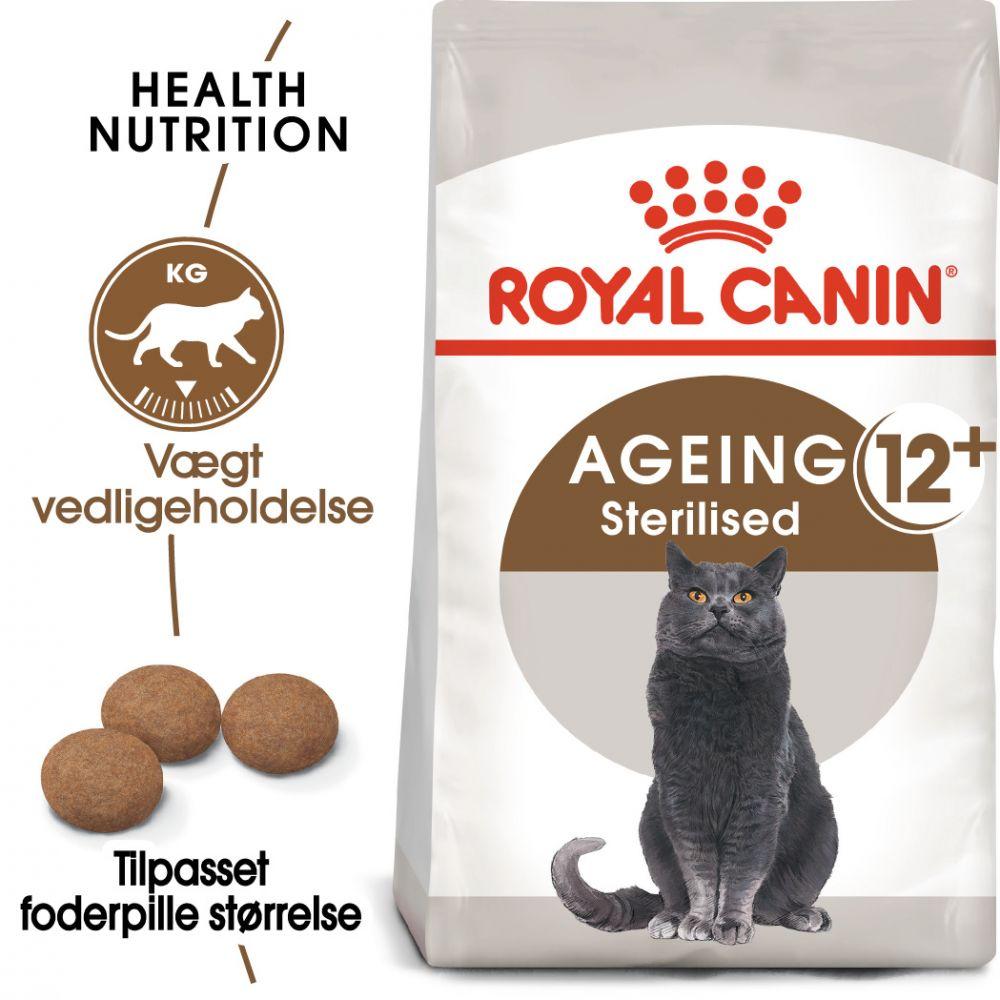 4kg Senior Ageing Sterilised 12+ Royal Canin Kattemad