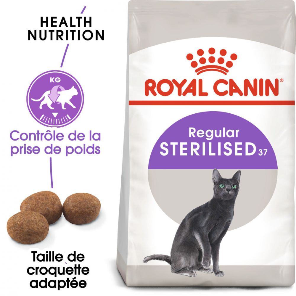 4kg Sterilised 37 Royal Canin Croquettes chat