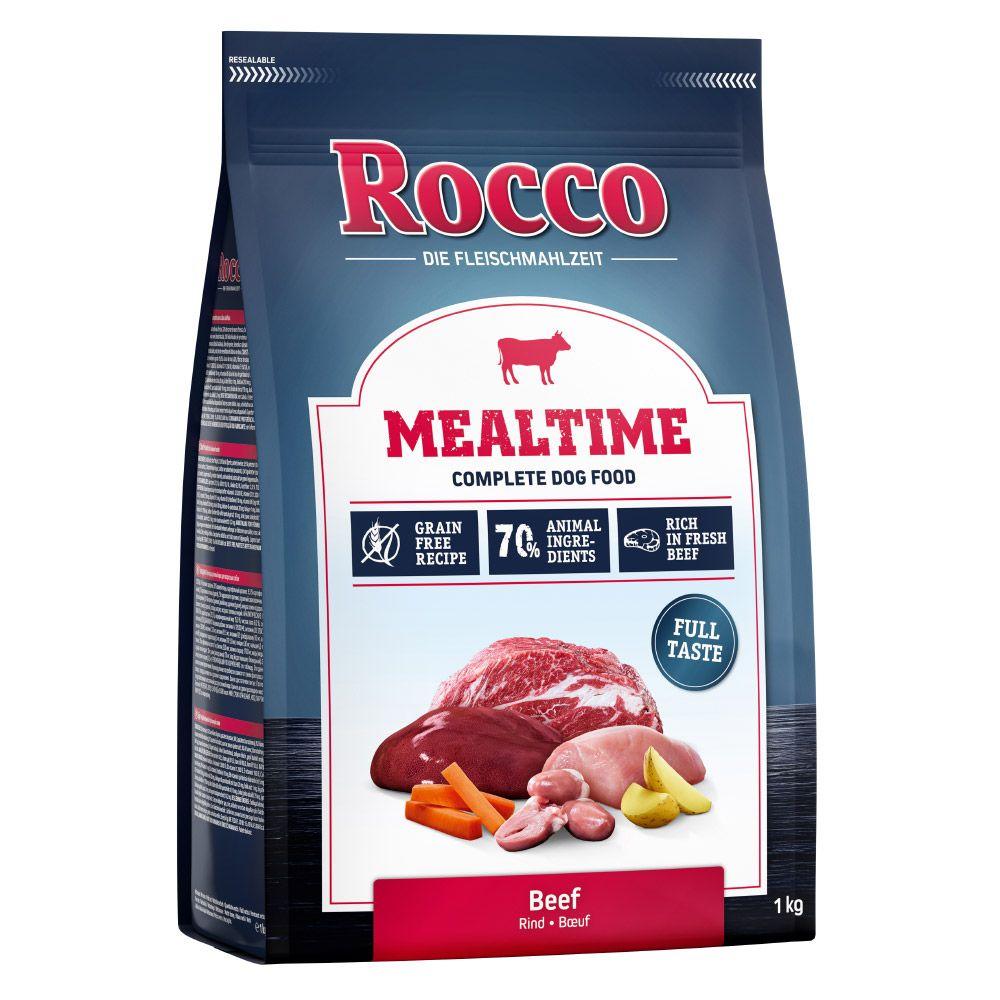 1kg Rocco Mealtime bœuf - Croquettes pour chien