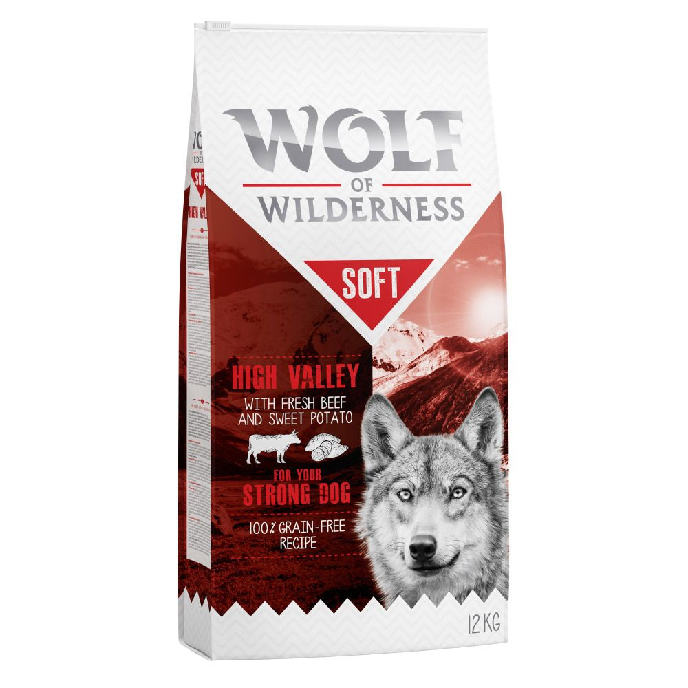 Adult Beef Soft Wolf of Wilderness Dry Dog Food