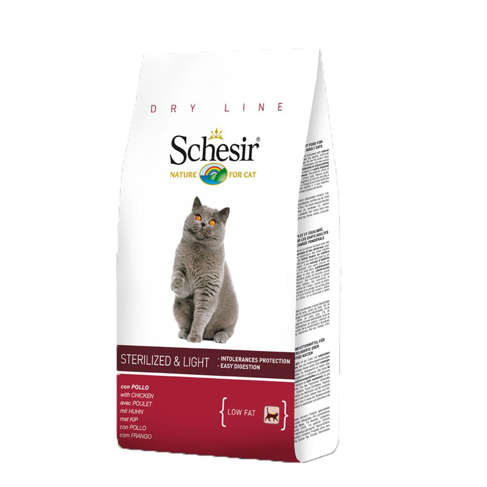 Foto Schesir Sterilized & Light - 2 x 10 kg - prezzo top! Esigenze specifiche