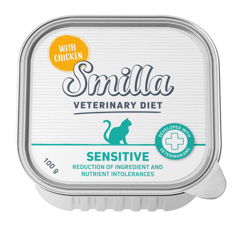 Sensitive Veterinary Diet Smilla Wet Cat Food