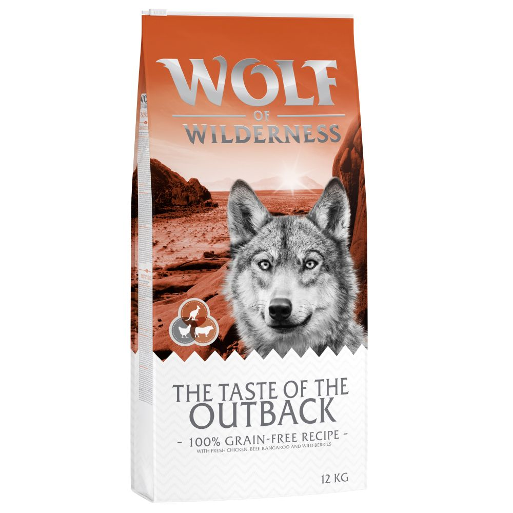 5kg Wolf of Wilderness The Taste Of The Outback - Croquettes pour chien