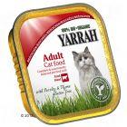 Yarrah Organic Chunks in Gravy 6 x 100g - Chicken & Turkey with Aloe Vera
