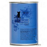Catz Finefood Blik Kattenvoer 6 x 400 g Lam & Konijn