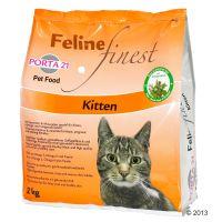 Porta 21 Feline Finest Kitten Kattenvoer dubbelpak: 2 x 2 kg