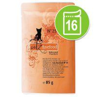 Catz Finefood Pouch Voordeelpakket Kattenvoer 16 x 85 g Kip & Fazant