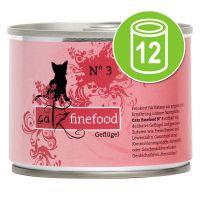 Catz Finefood Voordeelpakket Kattenvoer 12 x 200 g Lam & Konijn