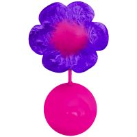 KONG Bat-A-Bout Flower - 1 Toy
