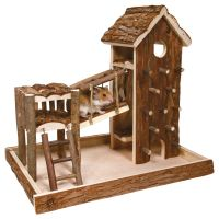 Birger Small Pet Playhouse - 36 x 26 x 33 cm (L x W x H)