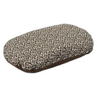 Aumller Baroque Spelt Cushion - Brown - 110 x 75 x 15 cm (L x W x H)