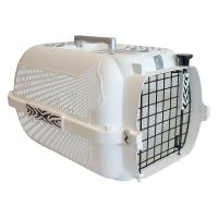 Catit Voyageur White Tiger Pet Carrier - White - 48 x 32 x 28 cm (L x W x H)