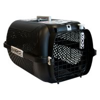 Catit Voyageur White Tiger Pet Carrier - Black - 57 x 38 x 31 cm (L x W x H)