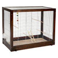 Diana Budgerigar Cage - Cage minus stand: 99 x 52 x 78 cm (L x W x H)