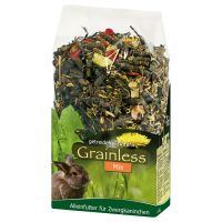 JR Farm Herbs Grainless Dwarf Rabbit Food Mix - Economy Pack: 3 x 1.7kg