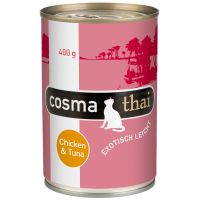 6 x 400 g Cosma Thai in Gelei Kip met kippenlever