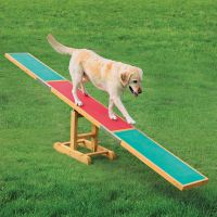Trixie Dog Activity Agility Seesaw - 300 x 34 x 54 cm (L x W x H)