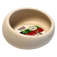 Living World Green Ergo Ceramic Small Pet Bowl - 300ml