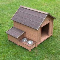 Sylvan Comfort Dog Kennel - Size L: 104 x 91 x 80.7 cm (L x W x H)