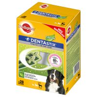 2 Months Bundle - 56 x Pedigree Dentastix Fresh + 18 x Pedigree Dentaflex - 15% Off!* - Small Dogs (56 Dentastix Fresh + 18 x 40g Dentaflex)
