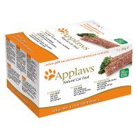 Sparpaket Applaws Cat Paté Mix 28 x 100 g - Rind, Truthahn, Seefisch Preisvergleich