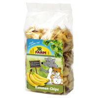 JR Farm Banana Chips - Saver Pack: 4 x 150g
