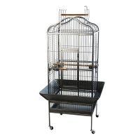 Noble Parrot Cage - Antique: 81 x 78 x 155 cm (L x W x H)