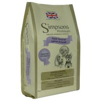 Simpsons Premium Dry Dog Food Economy Packs 2 x 12kg - Sensitive Adult Lamb & Potato