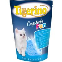 Tigerino Crystals Fun coloured cat litter - 5 litre Pink