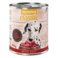 zooplus Classic Saver Pack 24 x 800g - Double Points!* - with Game & Beef