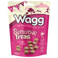 Wagg Sensitive Dog Treats - Saver Pack: 3 x 125g