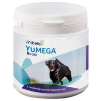 Lintbells YuMEGA Dog Boost Supplement - 180 Scoops