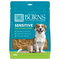 Burns Sensitive Treats - Pork & Potato - 200g