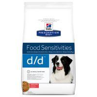Hills Prescription Diet Canine d/d Allergy & Skin Care Salmon & Rice - Economy Pack: 2 x 12kg