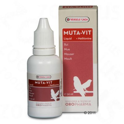Versele-Laga Muta-Vit Liquid ruggningsstöd – 30 ml