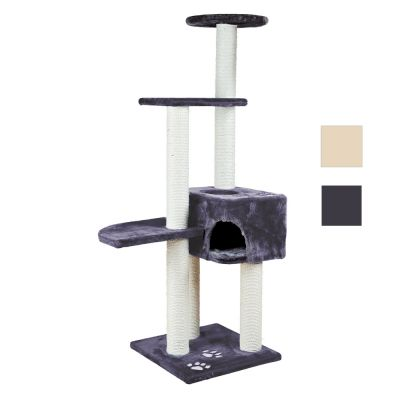 Trixie Cat Tree Alicante 45x45x142cm Anthracite