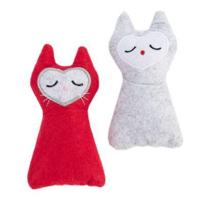 zoolove Felt Cat Set hračky pro kočky 2 kusy