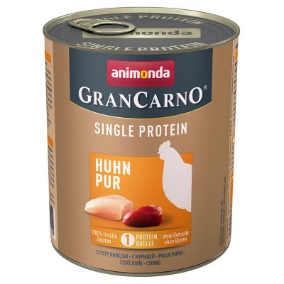 Animonda GranCarno Adult Single Protein 6 x 800 g - nauta