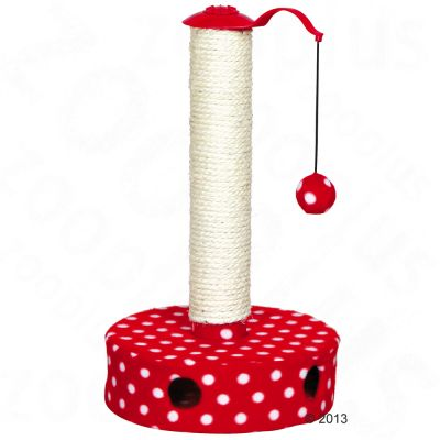 Trixie Cat Toy Tree Toadstool - Red / White
