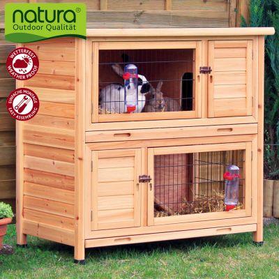 natura-konijnenhok-twee-verdiepingen-natuur-l-116-x-b-65-x-h-111-cm