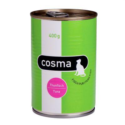 Cosma Original hyytelössä 6 x 400 g - kana