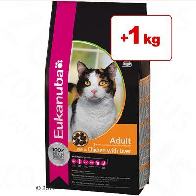 Eukanuba kissanruoka 2/3 kg + 1 kg kaupan päälle! - 3 kg Sterilised / Weight Control Adult