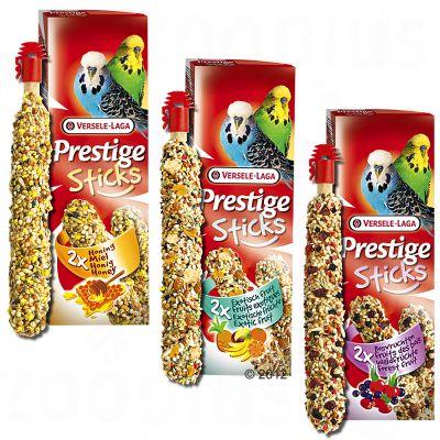 Prestige sticks för undulater – 2 x 2 st, exotiska frukter ( 60 g)