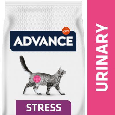 Advance Urinary Stress Veterinary Diets para gatos - 2 x 7,5 kg - Pack Ahorro