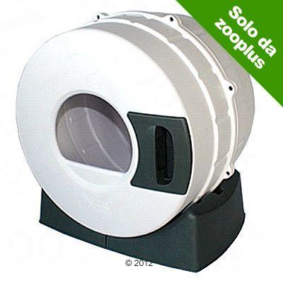 Foto Toilette per gatti Litter Spinner - bianco / grigio scuro Toilette innovative