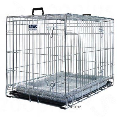 Savic Dog Residence koiranhäkki + tyyny - P 91 x L 61 x K 71 cm