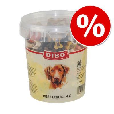 Dibo mix huesitos 500 g snacks para perros ¡con descuento! - 500 g