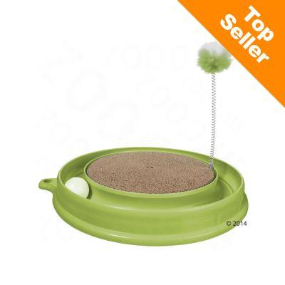 Catit Play-n-Scratch kattleksak – Grön