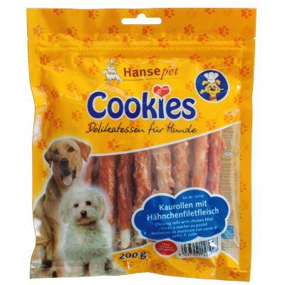 Cookie's Delikatess -kanafilepurutikut - 6 x 200 g