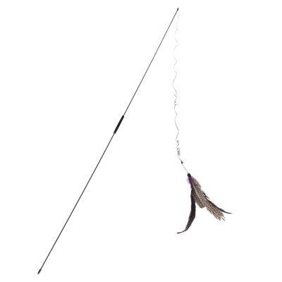 zooplus Exclusive - Kattenhengel Bird - Voordeelpakket: 3 x ca. 92 cm